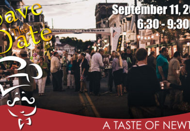 Save the Date – The Taste of Newton – Monday, Sept. 11 2017