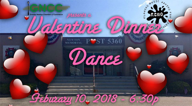 GNCC present's a Valentine's Dinner Dance at the VFW – Feb 10 @ 6:30pm