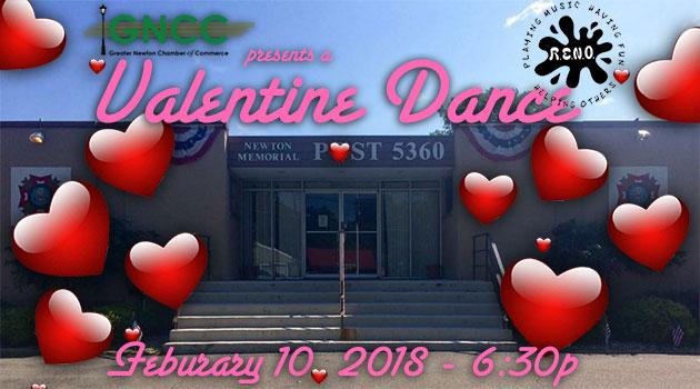 GNCC present's a Valentine's Dance at the VFW – Feb 10 @ 6:30pm